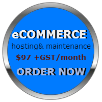ecommerce hosting button