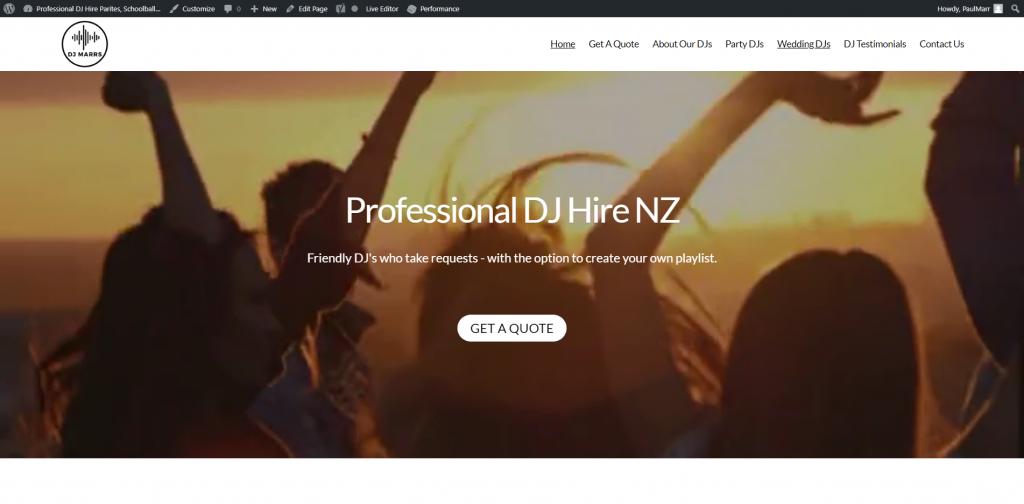 Professional DJ Hire NZ